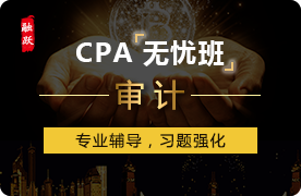 2018年CPA无忧班(精讲+习题)--审计